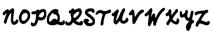 AzzurWhimsical Font UPPERCASE