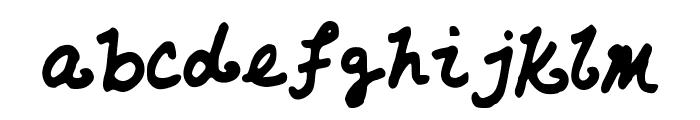 AzzurWhimsical Font LOWERCASE
