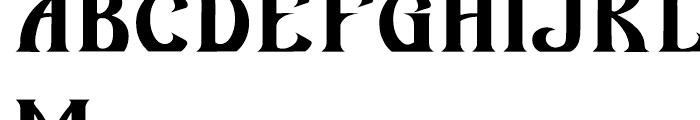 AZ Wings Font UPPERCASE
