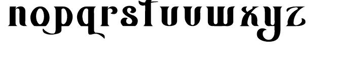 AZ Wings Font LOWERCASE