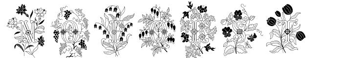 Azalleia Two Font UPPERCASE