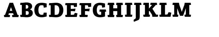 Azania Extra Bold Font UPPERCASE