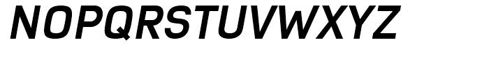 Azbuka Bold Italic Font UPPERCASE
