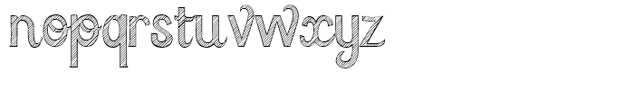 Azebra Regular Font LOWERCASE