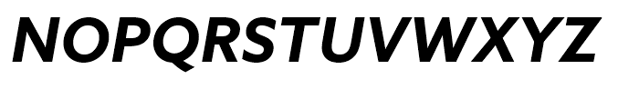 Azo Sans Bold Italic Font UPPERCASE