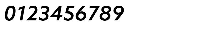 Azo Sans Medium Italic Font OTHER CHARS