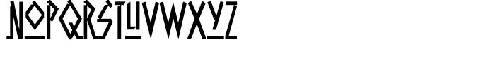 Aztech Click Click Font LOWERCASE