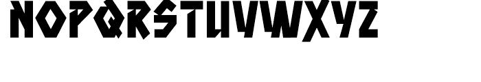 Aztech Click Clunk Font UPPERCASE