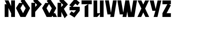 Aztech Click Clunk Font LOWERCASE