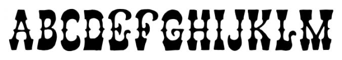 AZ Storm Regular Font UPPERCASE