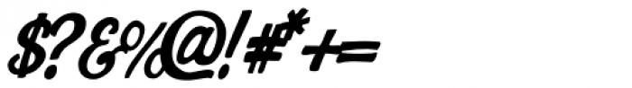 AZ Cut Script Font OTHER CHARS