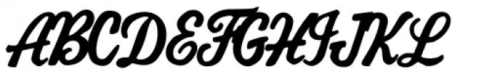 AZ Cut Script Font UPPERCASE