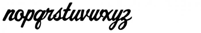 AZ Cut Script Font LOWERCASE