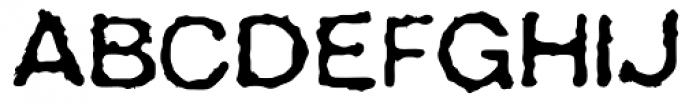 AZ Grampa Font UPPERCASE