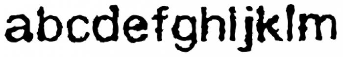 AZ Grampa Font LOWERCASE