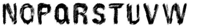 AZ Hello Brushed Font UPPERCASE