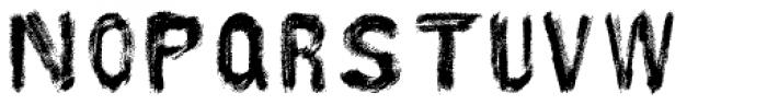 AZ Hello Brushed Font LOWERCASE