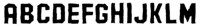 AZ Pledge Fill Font LOWERCASE