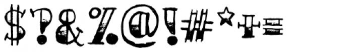 AZ Sailor Tattoo Font OTHER CHARS