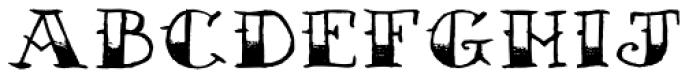 AZ Sailor Tattoo Font LOWERCASE