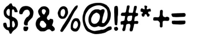AZ Text Font OTHER CHARS