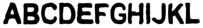 AZ Text Font UPPERCASE
