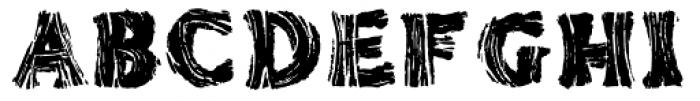 AZ Tiki Font UPPERCASE