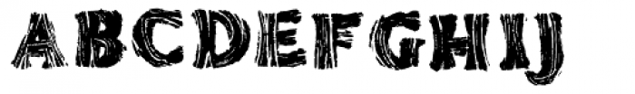 AZ Tiki Font LOWERCASE