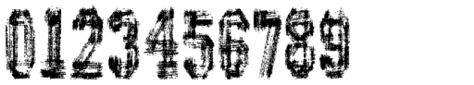 AZ Varsity Brush Font OTHER CHARS