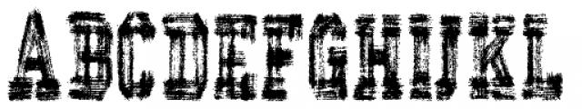 AZ Varsity Brush Font UPPERCASE