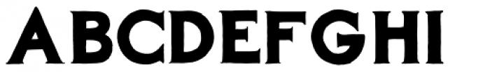 AZBarista Font UPPERCASE