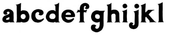 AZBarista Font LOWERCASE