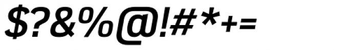 Azbuka Pro Bold Italic Font OTHER CHARS
