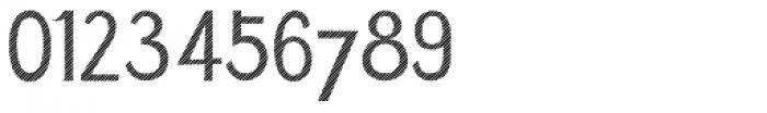 Azebra Stencil Font OTHER CHARS