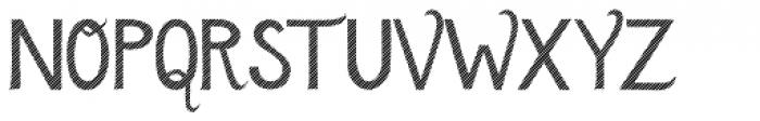 Azebra Stencil Font UPPERCASE