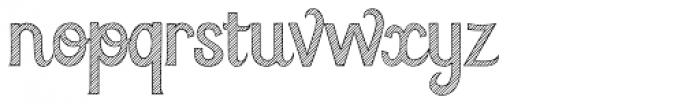 Azebra Font LOWERCASE