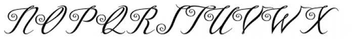 Azelea Font UPPERCASE