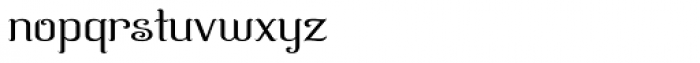 Azelea Font LOWERCASE