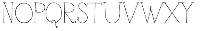 Azoe Font UPPERCASE