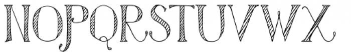 Azola Za Cursive Font UPPERCASE
