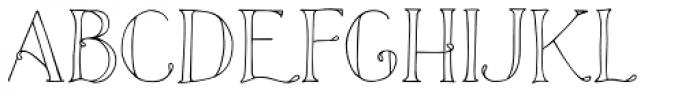 Azola Font UPPERCASE