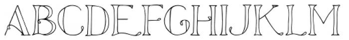 Azola Font LOWERCASE