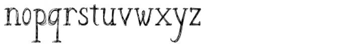 Azsion Font LOWERCASE