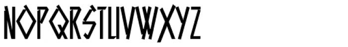 Aztech Click Font UPPERCASE