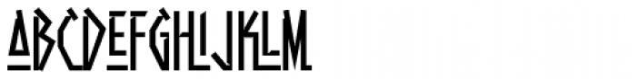 Aztech Click Font LOWERCASE
