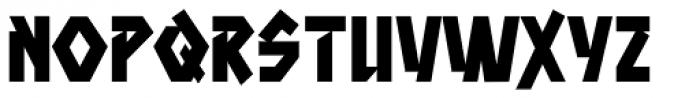 Aztech Clunk Font UPPERCASE