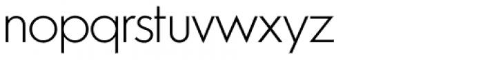 Azur Extra Light Font LOWERCASE
