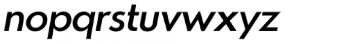 Azur Medium Italic Font LOWERCASE