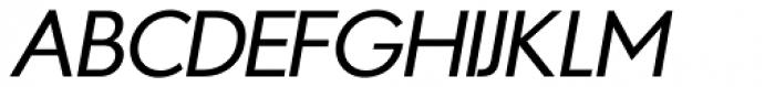 Azur Normal Italic Font UPPERCASE