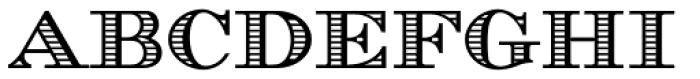 Azuree ND Font UPPERCASE